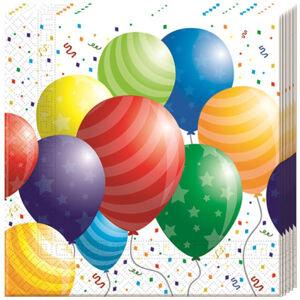 Procos Servítky Balónová párty 33 x 33 20 ks