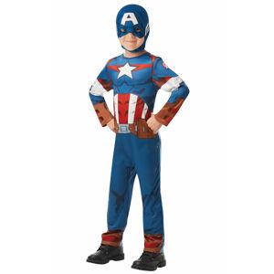 Rubies Kostým Captain America detský Veľkosť - deti: L