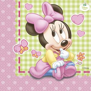 Procos Servítky Minnie Mouse - Baby 33 x 33 20 ks