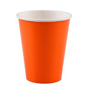Amscan Poháre oranžové 260 ml 8 ks