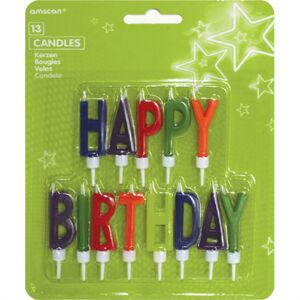 Amscan Sviečky Happy Birthday - písmená