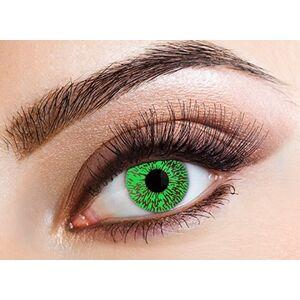Eyecasions Šošovky mesačné Green Tint