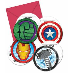Procos Pozvánky Avengers 6 ks