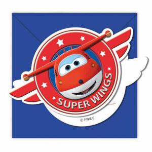 Procos Pozvánky Super Wings 6 ks