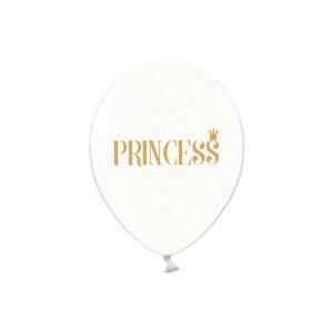 PartyDeco Balónik Priesvitný Princezna