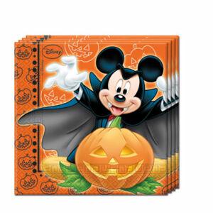 Procos Servítky Mickey Halloween 2-vrstvové 33 x 33 cm
