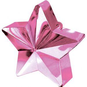 Amscan Závažie na balóny Hviezda ružová