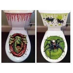 Guirca Hallowenska nálepka na záchod strašidelný vzor