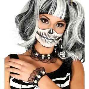 Guirca Sada - náhrdelník a náramok s lebkami