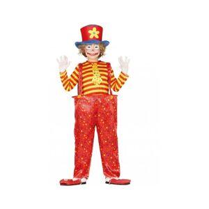 Guirca Detský kostým - Zábavný klaun Veľkosť - deti: M