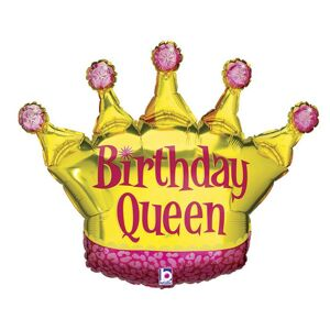 Gemar Fóliový balón - Narodeninová kráľovná