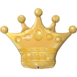 Qualatex Fóliový balón - Zlatá koruna