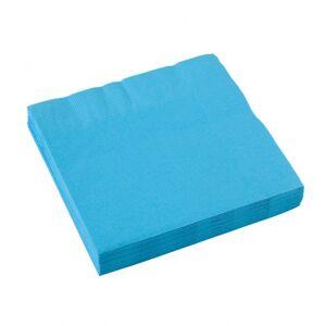 Amscan Modré servítky 25x25 cm