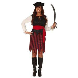 Guirca Dámsky kostým - Pirátka Veľkosť - dospelý: M