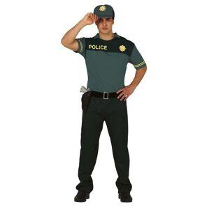 Guirca Pánsky kostým - Policajt Veľkosť - dospelý: L
