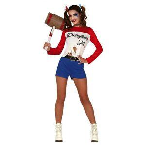 Guirca Dámsky kostým - Harley Quinn Veľkosť - dospelý: M
