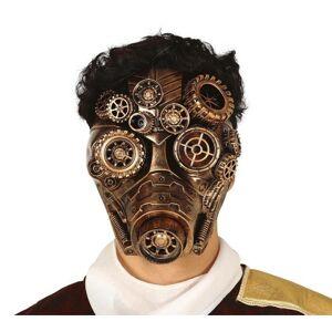 Guirca Maska - Zlatá v štýle Steampunk