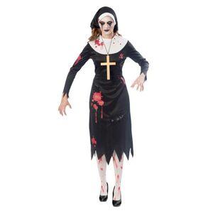 Amscan Dámsky kostým - Zombie mníška Veľkosť - Dospelí: M