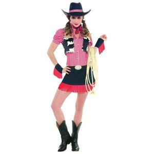 Amscan Dámsky kostým - Divoká kovbojka Veľkosť - Dospelí: S