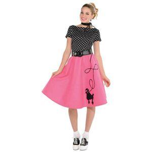 Amscan Dámsky kostým - Pin up dievča 50. roky Veľkosť - dospelý: M