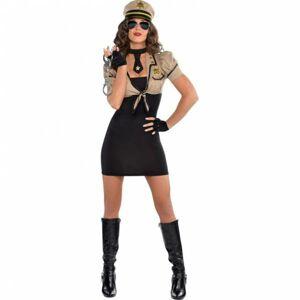 Amscan Dámsky kostým - Šerifka Veľkosť - Dospelí: M