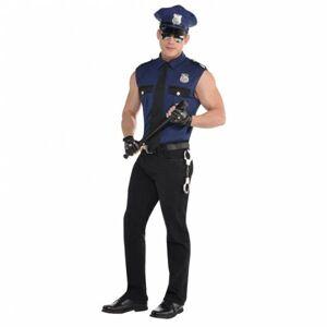 Amscan Pánsky kostým - Sexy policajt Veľkosť - Dospelí: L