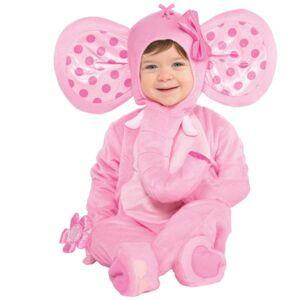Amscan Kostým pre najmenších - Sladký sloník Veľkosť.: 6 - 12 mesiacov