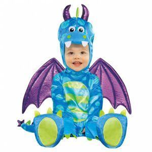 Amscan Kostým pre najmenších - Malý drak Veľkosť.: 12 - 24 mesiacov
