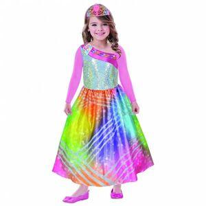 Amscan Detský kostým - Barbie magická dúha Veľkosť - deti: XS