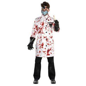 Amscan Pánsky kostým - Šialený zubár Veľkosť - Dospelí: M/L