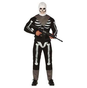 Guirca Pánsky kostým - Skull Trooper (Fortnite) Veľkosť - Dospelí: M