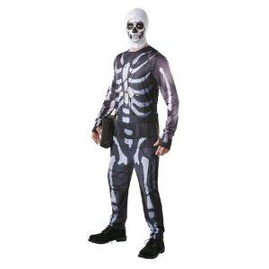 Rubies Pánsky kostým - Skull Trooper Fortnite Veľkosť - Dospelí: L