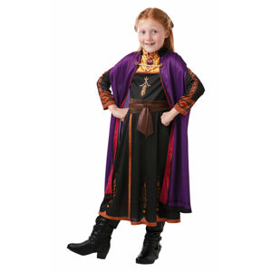 Rubies Detský kostým - Anna (šaty) Veľkosť - deti: S