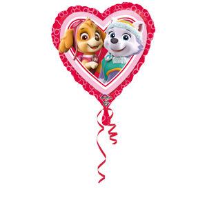 Amscan Fóliový balón Paw Patrol Love - Girl 43cm