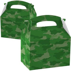 Amscan Papierový Párty Box - vojenský