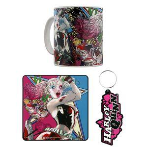 Pyramid Darčeková sada - hrnček, podložka pod hrnček, kľúčenka DC Comics (Harley Quinn)