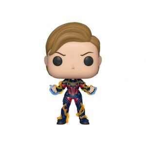 Figúrka Funko POP Marvel Endgame - Captain Marvel with New Hair