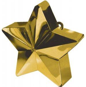 Amscan Závažie na balóny Hviezda zlaté