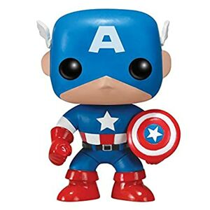 Figúrka Funko POP Bobble Marvel: Captain America