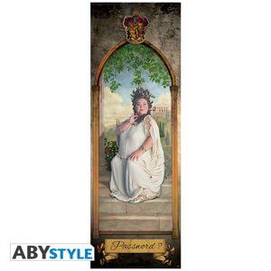 ABY style Plagát na dvere Harry Potter - Tučná Pani