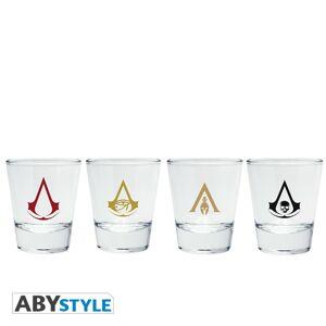 ABY style Poldecáky Assassin's Creed - Emblémy (4 ks)