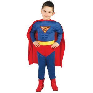 Guirca Kostým Superman Veľkosť - deti: M