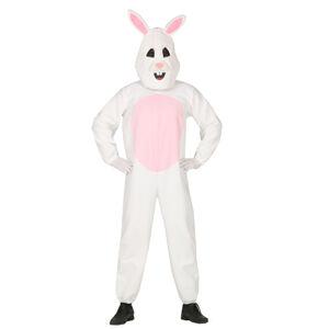 Guirca Kostým Zajaca - biely Veľkosť - dospelý: L