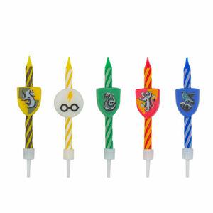 Cinereplicas Narodeninové sviečky Harry Potter 10 ks