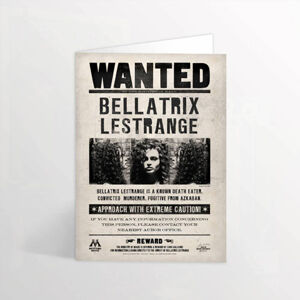 Minalima Pohľadnica Bellatrix - Harry Potter