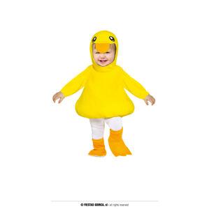 Guirca Detský kostým pre najmenších - Kuriatko Veľkosť najmenší: 6 - 12 mesiacov