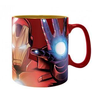 ABY style Hrnček The Armored Avenger - Iron Man - Marvel 460 ml