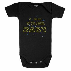 Baby-Geek Detské body - I am Your Baby Veľkosť.: 6 - 12 mesiacov
