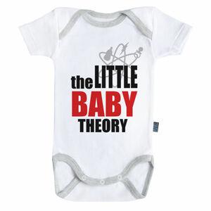Baby-Geek Detské body - The little baby theory Veľkosť.: 3 - 6 mesiacov