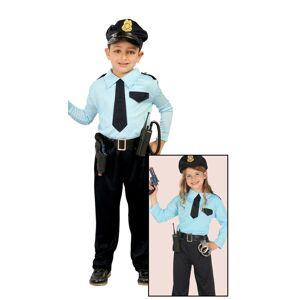 Guirca Detský kostým Policajt Veľkosť - deti: M